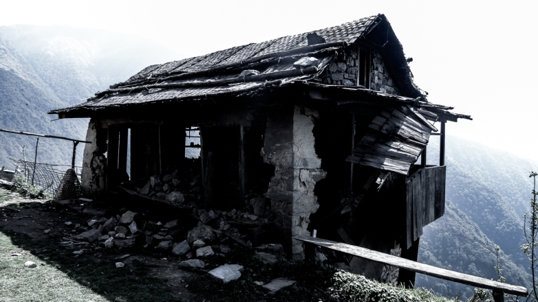 Kanchenjunga village Népal-8