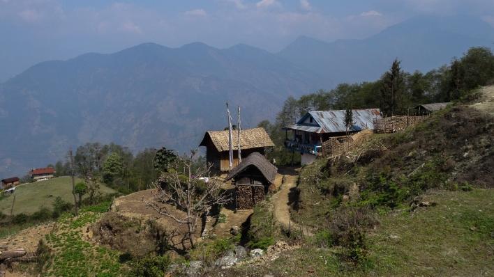 Kanchenjunga village Népal