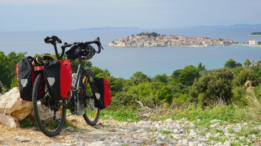 Vélo en croatie