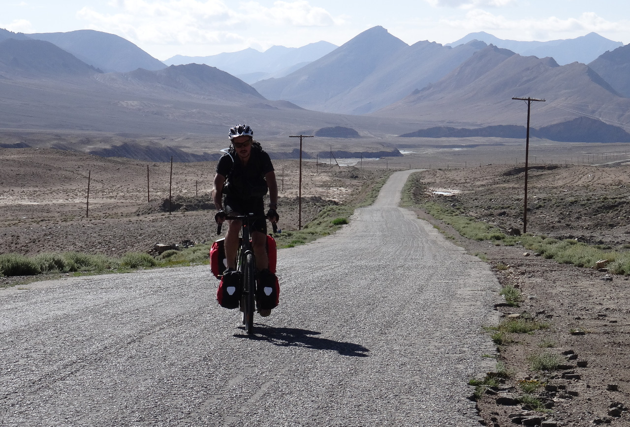Vélo Pamir Highway