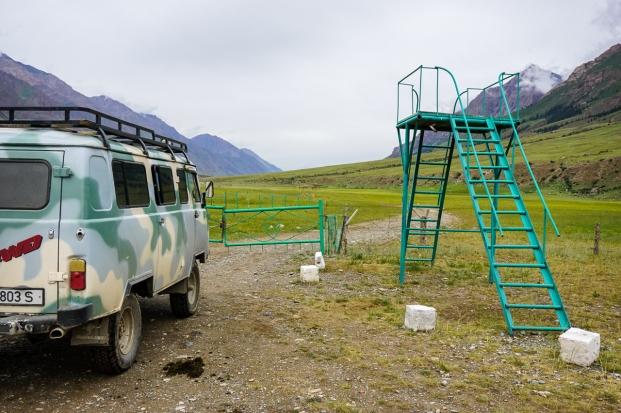 Kyrgyzstan Inylchek